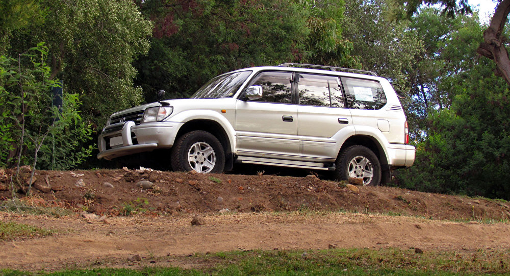 Toyota Land Cruiser Prado TX Limited 1998