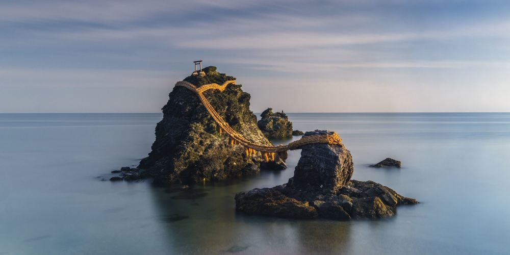 Снимок Wedded Rocks фотографа Anastasia Woolmington, победивший в конкурсе Carolyn Mitchum Award в рамках the EPSON International Pano Awards 2018